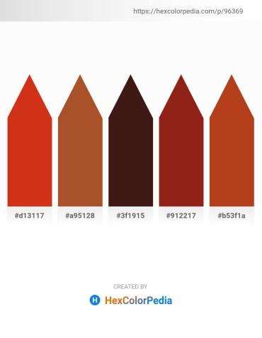 Palette image download - Crimson – Sienna – Medium Violet Red – Saddle Brown – Firebrick