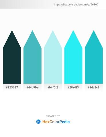 Palette image download - Midnight Blue – Medium Turquoise – Pale Turquoise – Aqua – Light Sea Green