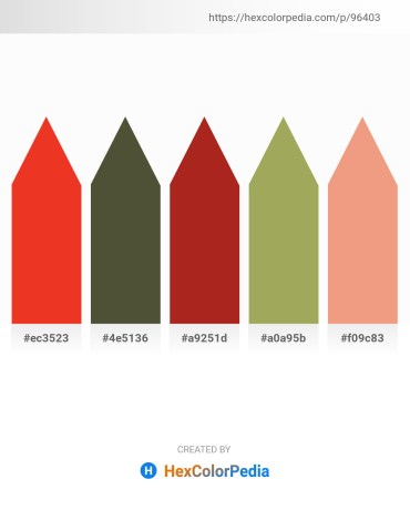 Palette image download - Crimson – Dark Olive Green – Firebrick – Dark Khaki – Dark Salmon