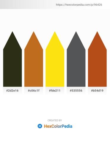 Palette image download - Dark Slate Blue – Chocolate – Gold – Dark Slate Gray – Chocolate