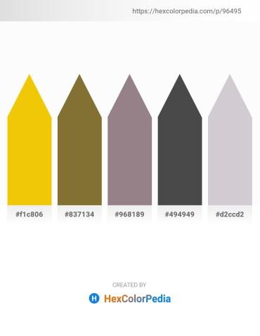 Palette image download - Gold – Dark Olive Green – Gray – Dim Gray – Light Gray