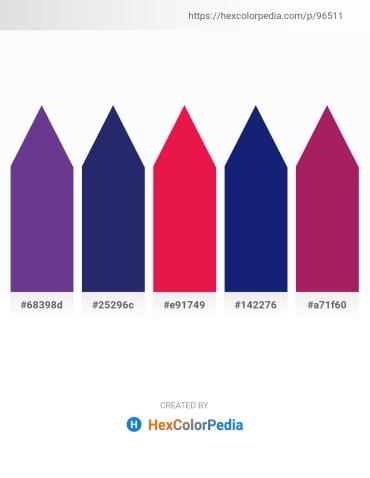 Palette image download - Dark Slate Blue – Midnight Blue – Crimson – Midnight Blue – Medium Violet Red