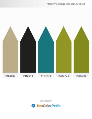 Palette image download - Dark Khaki – Black – White Smoke – Olive Drab – Olive Drab