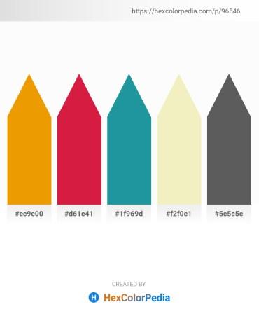Palette image download - Orange – Crimson – Light Sea Green – Pale Goldenrod – Dim Gray