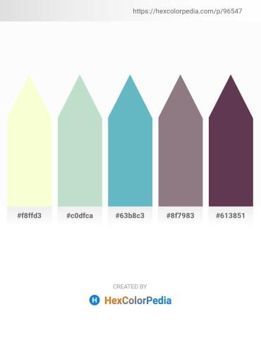 Palette image download - Lemon Chiffon – Dodger Blue – Medium Aquamarine – Gray – Aqua