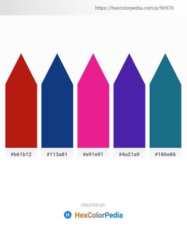 Palette image download - Firebrick – Midnight Blue – Medium Violet Red – Midnight Blue – Salmon