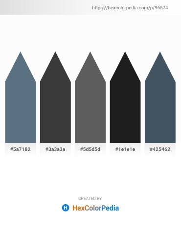 Palette image download - Slate Gray – Dim Gray – Dim Gray – Black – Dark Slate Gray