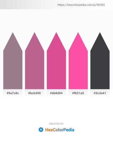 Palette image download - Gray – Indian Red – Pale Violet Red – Hot Pink – Dark Slate Gray