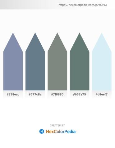 Palette image download - Light Slate Gray – Slate Gray – Slate Gray – Slate Gray – Lavender