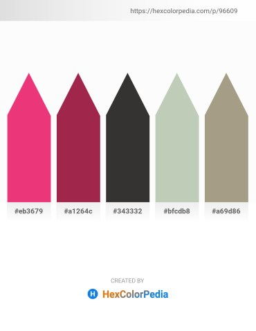 Palette image download - Medium Violet Red – Brown – Black – Dark Sea Green – Brown