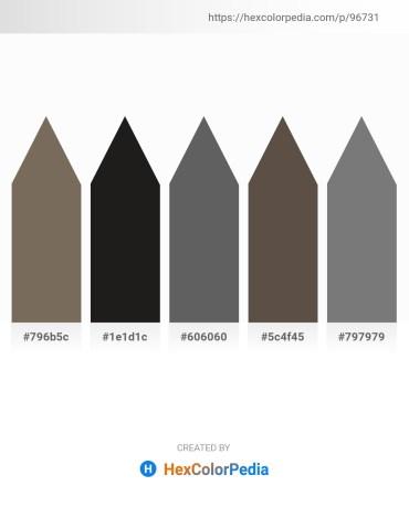 Palette image download - Dim Gray – Black – Dim Gray – Dim Gray – Gray