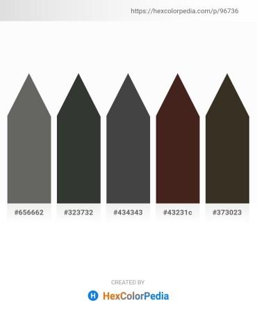 Palette image download - Dim Gray – Dark Slate Gray – Dim Gray – Dark Khaki – Royal Blue