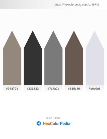 Palette image download - Gray – Black – Gray – Dim Gray – Light Steel Blue