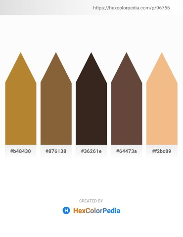 Palette image download - Peru – Sienna – Indian Red – Black – Khaki
