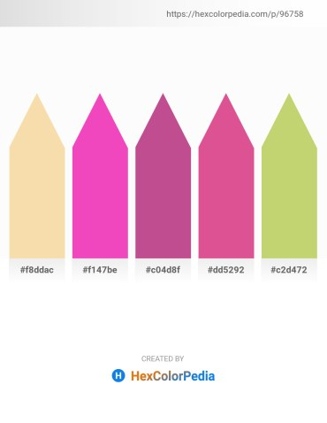 Palette image download - Wheat – Hot Pink – Indian Red – Pale Violet Red – Dark Khaki