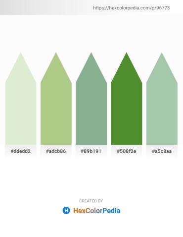 Palette image download - Beige – Dark Khaki – Dark Sea Green – Olive Drab – Dark Sea Green