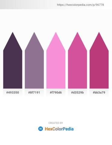 Palette image download - Dark Slate Blue – Gray – Violet – Pale Violet Red – Indian Red