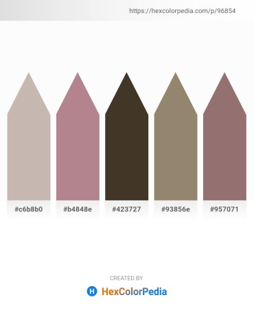 Palette image download - Silver – Rosy Brown – Dark Olive Green – Gray – Gray