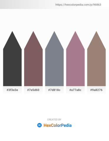 Palette image download - Dim Gray – Dim Gray – Slate Gray – Rosy Brown – Gray