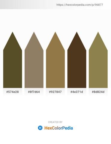Palette image download - Dark Olive Green – Gray – Dark Olive Green – Dark Sea Green – Dark Olive Green