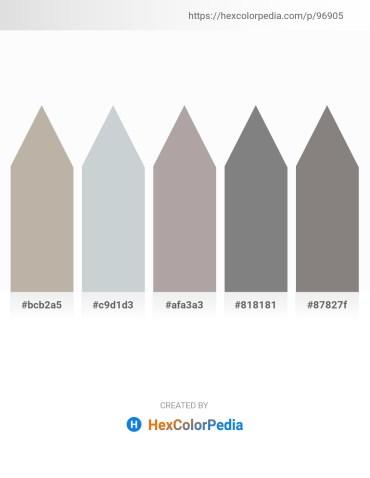 Palette image download - Dark Gray – Light Steel Blue – Dark Gray – Gray – Gray