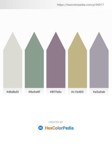 Palette image download - Light Gray – Dark Sea Green – Gray – Dark Khaki – Light Slate Gray