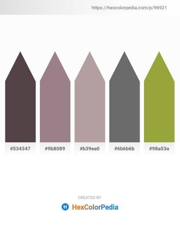 Palette image download - Dim Gray – Gray – Dark Gray – Dim Gray – Yellow Green