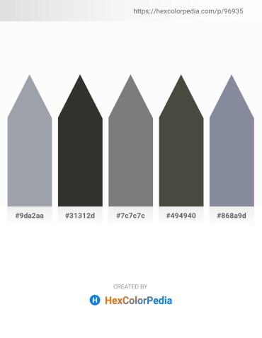 Palette image download - Light Slate Gray – Black – Gray – Dim Gray – Light Slate Gray
