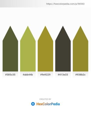 Palette image download - Dark Olive Green – Dark Khaki – Olive Drab – Gray – Olive Drab