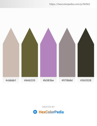 Palette image download - Rosy Brown – Dark Olive Green – Medium Orchid – Gray – Dim Gray