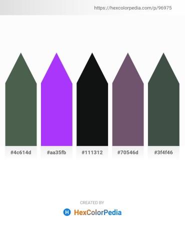 Palette image download - Dark Slate Gray – Blue Violet – Dark Orchid – Dim Gray – Dark Slate Gray