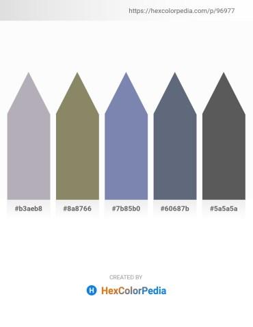Palette image download - Light Slate Gray – Gray – Light Slate Gray – Slate Gray – Dim Gray