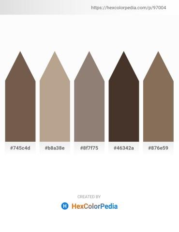 Palette image download - Dim Gray – Rosy Brown – Gray – Dark Khaki – Dim Gray