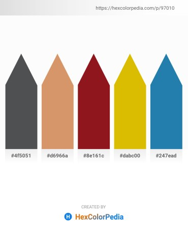 Palette image download - Dark Slate Gray – Burlywood – Firebrick – Orange – Light Steel Blue
