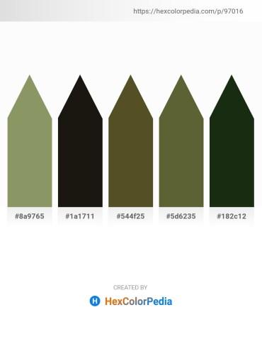 Palette image download - Dark Sea Green – Black – Dark Olive Green – Dark Olive Green – Dark Olive Green