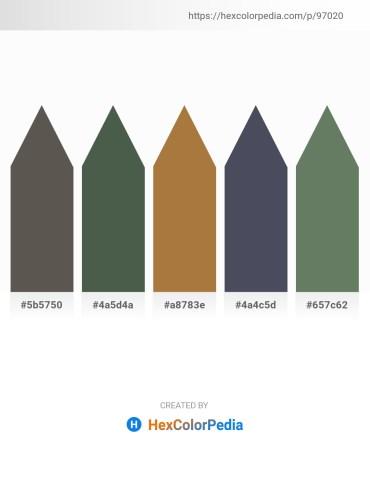 Palette image download - Dim Gray – Dark Slate Gray – Sienna – Dark Slate Gray – Dim Gray