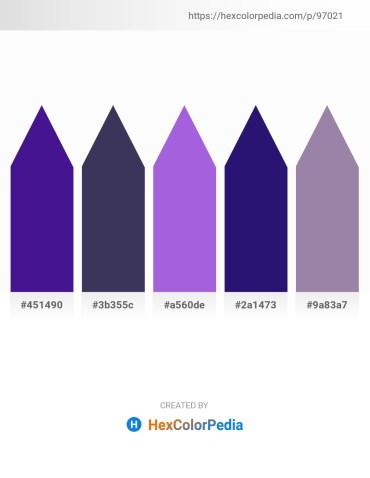 Palette image download - Midnight Blue – Dark Slate Blue – Medium Purple – Midnight Blue – Light Slate Gray