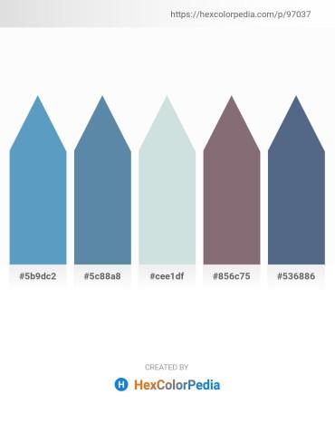 Palette image download - Steel Blue – Cadet Blue – Light Steel Blue – Gray – Slate Gray