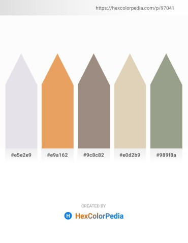 Palette image download - Light Steel Blue – Dark Salmon – Gray – Tan – Dark Sea Green
