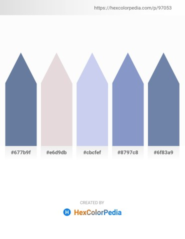 Palette image download - Light Slate Gray – Thistle – Light Blue – Light Steel Blue – Light Slate Gray
