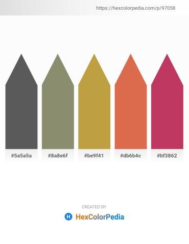 Palette image download - Dim Gray – Gray – Peru – Peru – Indian Red