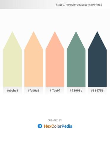 Palette image download - Beige – Navajo White – Navajo White – Cadet Blue – Dark Slate Gray