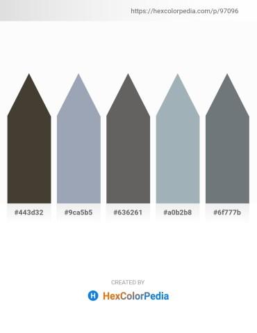 Palette image download - Dark Olive Green – Light Slate Gray – Dim Gray – Light Slate Gray – Slate Gray