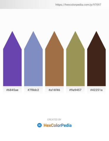 Palette image download - Dark Slate Blue – Steel Blue – Sienna – Dark Khaki – Slate Gray