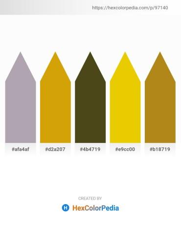 Palette image download - Dark Gray – Dark Goldenrod – Dark Olive Green – Gold – Dark Goldenrod