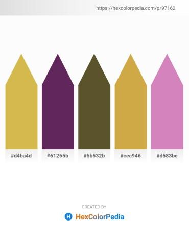 Palette image download - Goldenrod – Lime Green – Dark Olive Green – Peru – Orchid