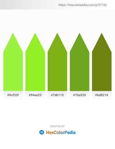 Palette image download - Green Yellow – Green Yellow – Olive Drab – Olive Drab – Olive Drab