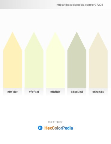 Palette image download - Moccasin – Light Goldenrod Yellow – Light Yellow – Tan – Beige
