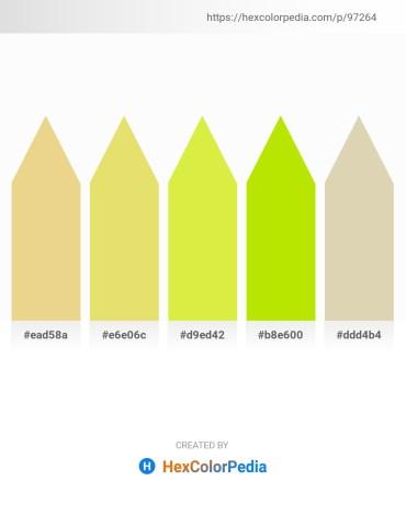 Palette image download - Khaki – Khaki – Green Yellow – Chartreuse – Tan