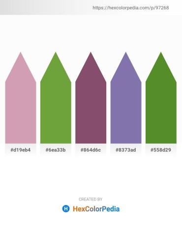 Palette image download - Rosy Brown – Olive Drab – Alice Blue – Light Slate Gray – Olive Drab